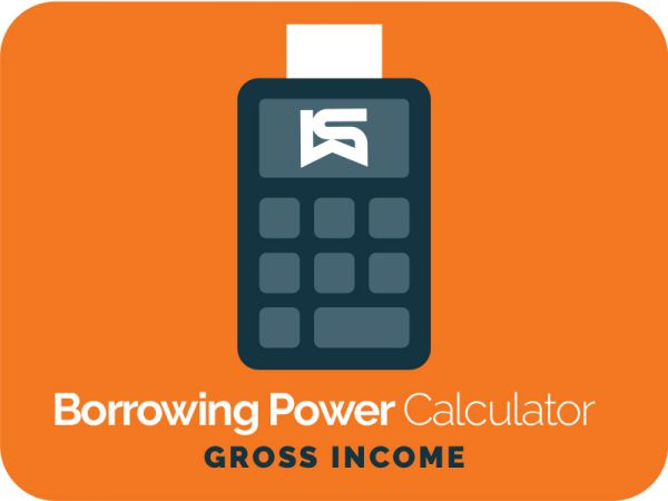 Borrowing Power Calculator 2 (Gross Income)